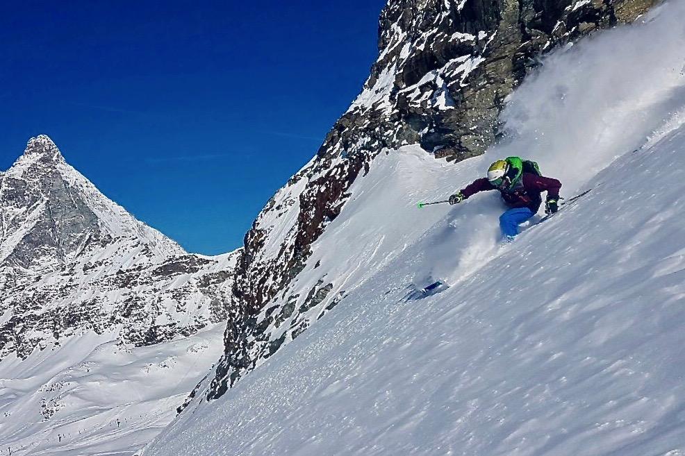Freeride Unterricht Zermatt